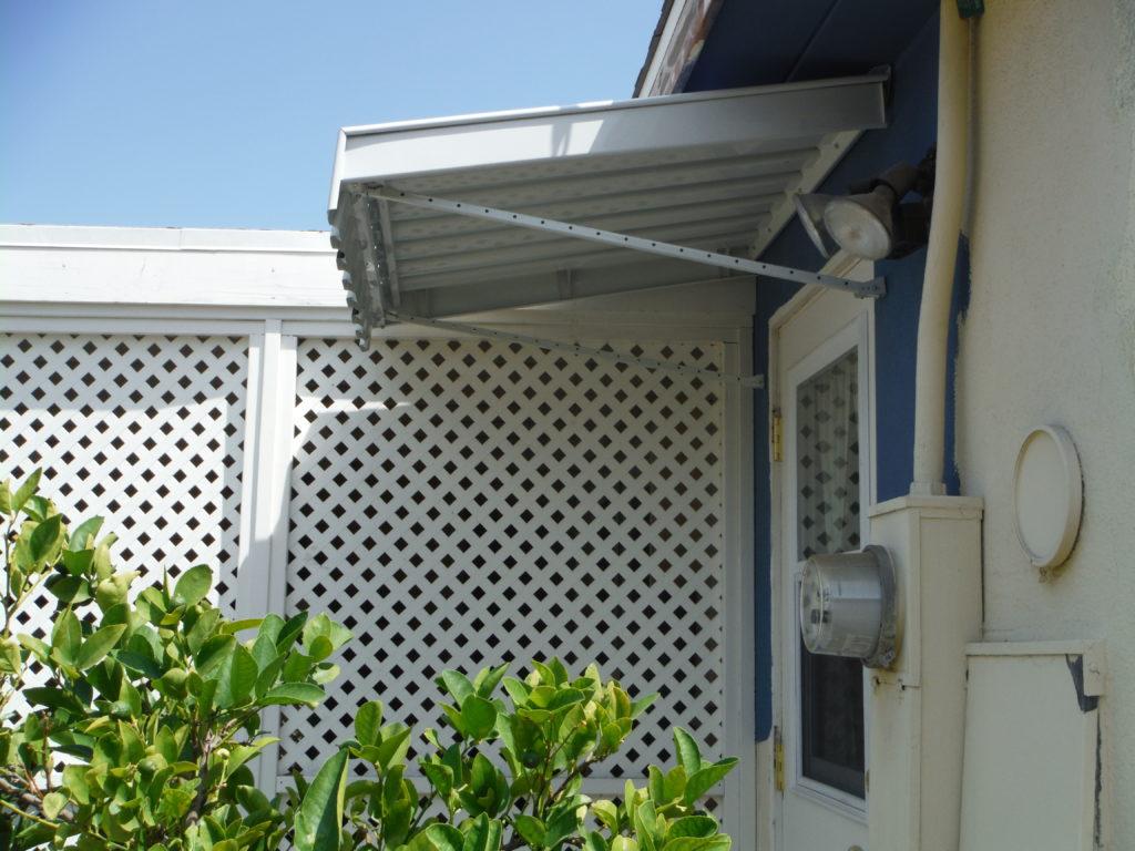 Residential Meridian Window and Door Awnings