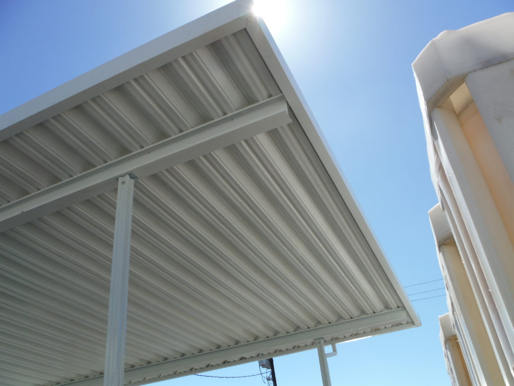 Standalone Aluminum Industrial Awning