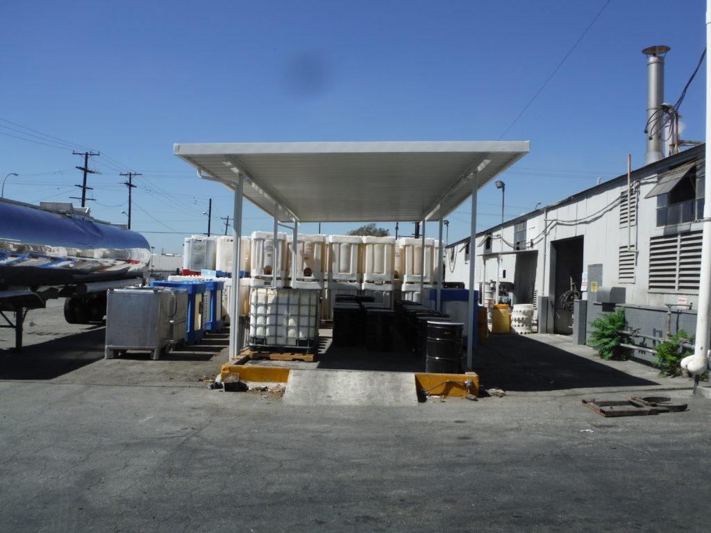 Aluminum Freestanding Awning Los Angeles_2