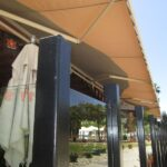 Commercial Awnings Installed, Hooters in Los Angeles_After_4