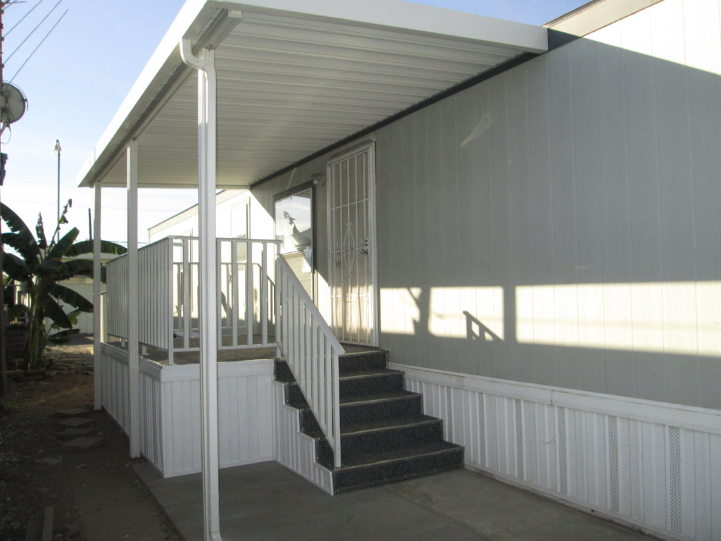 residential slide wire and trellis awning