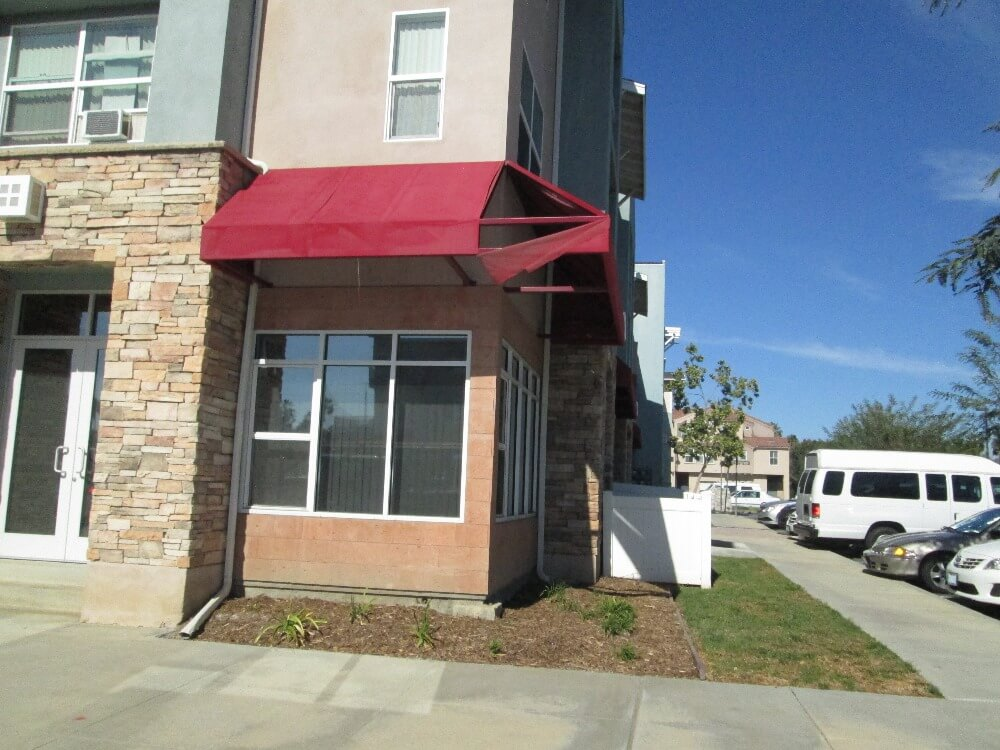 Before Commercial Awnings Installed in Anaheim, CA_2