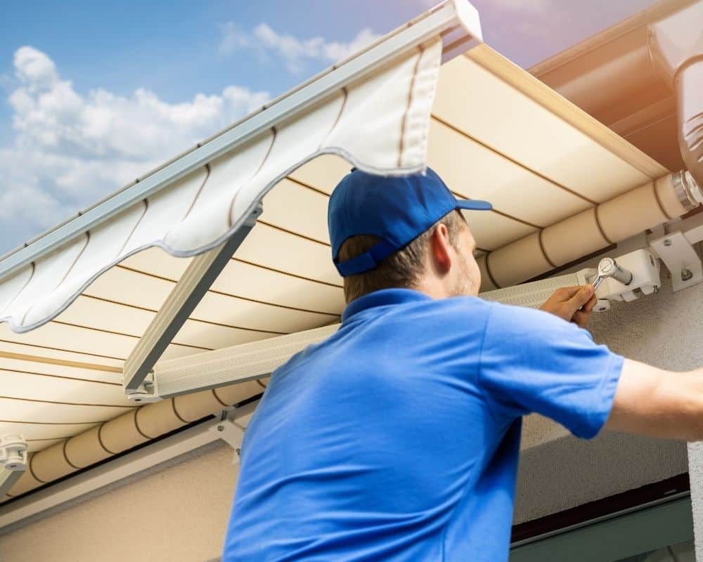 retractable awning installation los angeles